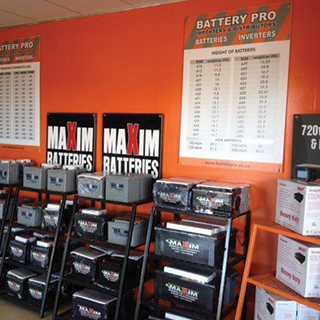 Battery Pro MAXIM batteries