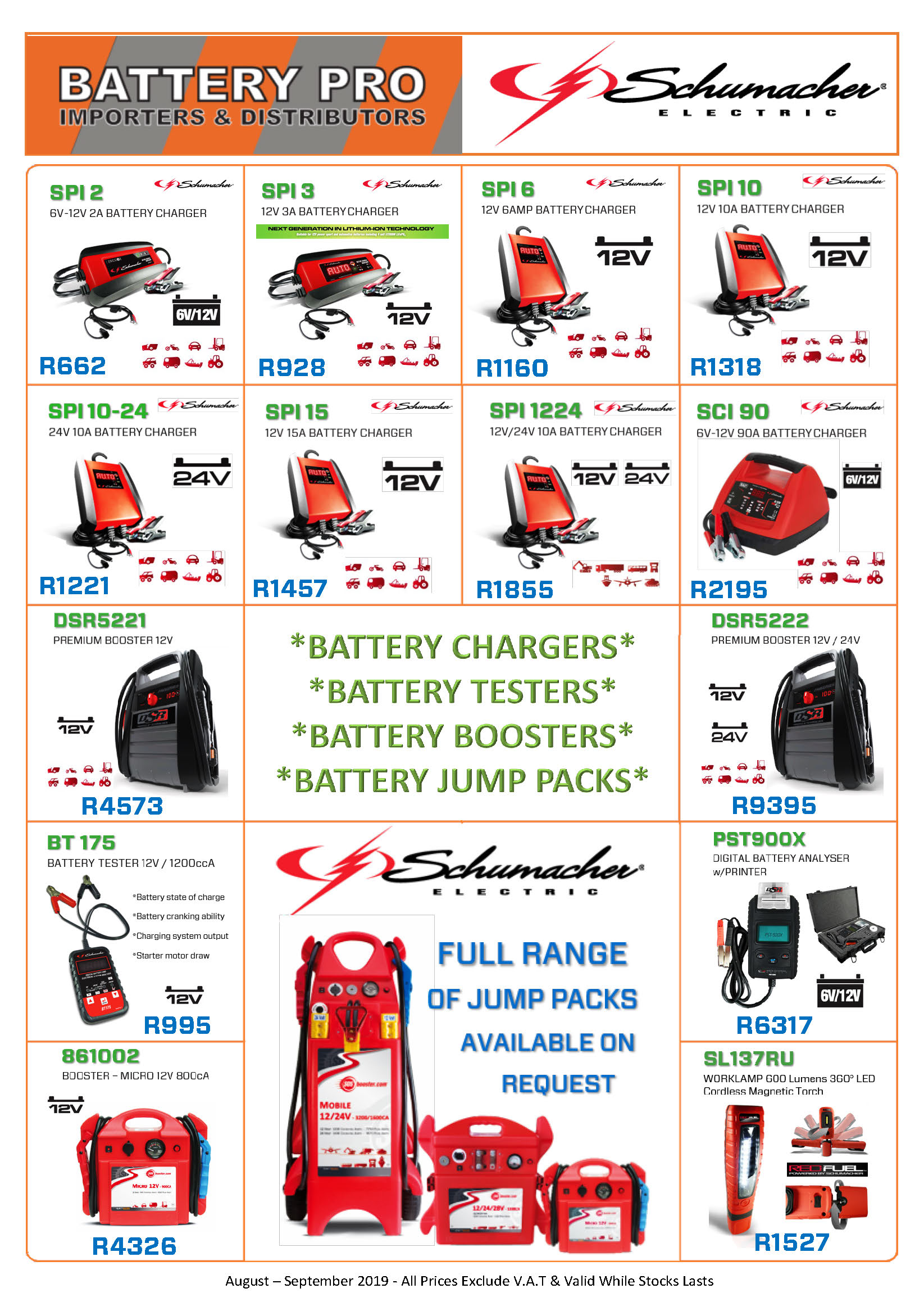 special offers from battery pro